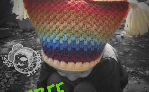 Returning to the Rainbow Square Hat