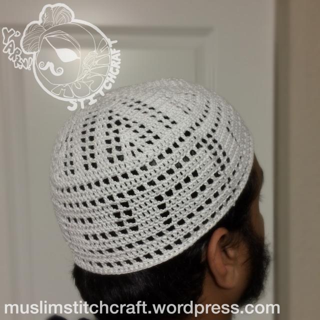 Basic Crochet Kufi Hat Muslim Stitchcraft